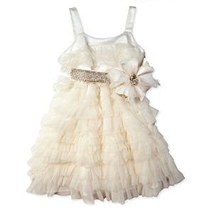 Miss Grant-Microbe Ivory Glamour Dress